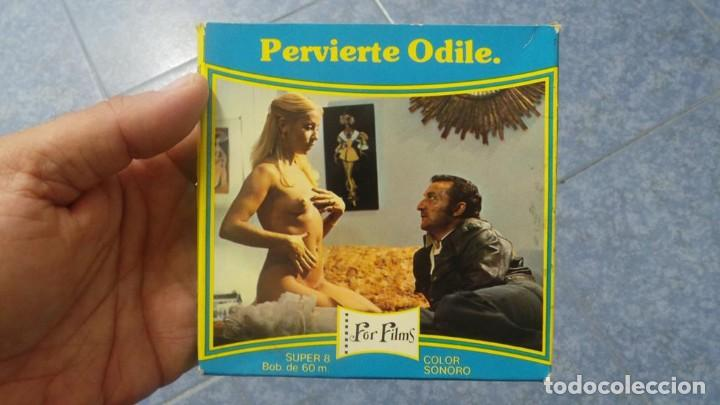 Cine: PERVIERTE ODILE CORTOMETRAJE -PARA ADULTOS- SUPER 8 MM-RETRO VINTAGE FILM - Foto 42 - 165910170