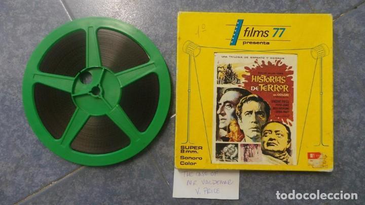 EL CASO DEL DOCTOR VALDEMAR (TERROR) PELÍCULA-SUPER 8 MM-1 X 180 MTS, RETRO-VINTAGE FILM (Cine - Películas - Super 8 mm)