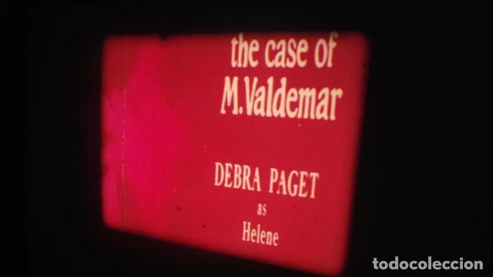 Cine: EL CASO DEL DOCTOR VALDEMAR (TERROR) PELÍCULA-SUPER 8 MM-1 x 180 MTS, RETRO-VINTAGE FILM - Foto 3 - 165910522