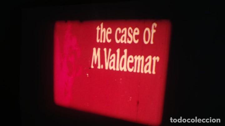 Cine: EL CASO DEL DOCTOR VALDEMAR (TERROR) PELÍCULA-SUPER 8 MM-1 x 180 MTS, RETRO-VINTAGE FILM - Foto 4 - 165910522