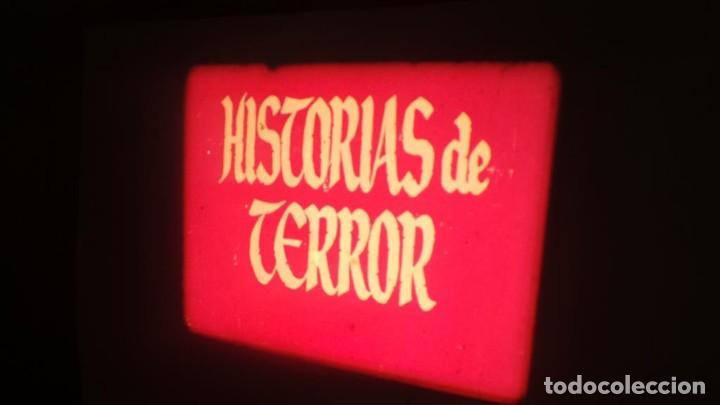Cine: EL CASO DEL DOCTOR VALDEMAR (TERROR) PELÍCULA-SUPER 8 MM-1 x 180 MTS, RETRO-VINTAGE FILM - Foto 5 - 165910522