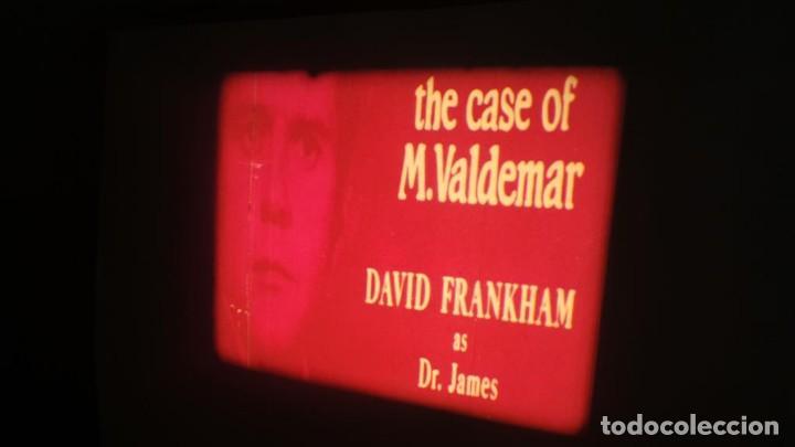 Cine: EL CASO DEL DOCTOR VALDEMAR (TERROR) PELÍCULA-SUPER 8 MM-1 x 180 MTS, RETRO-VINTAGE FILM - Foto 8 - 165910522