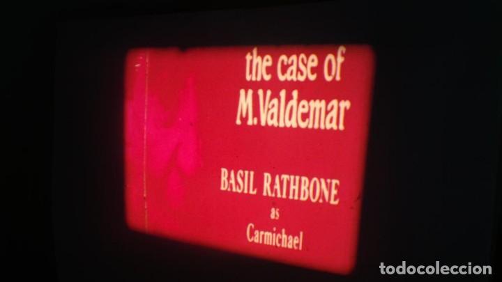 Cine: EL CASO DEL DOCTOR VALDEMAR (TERROR) PELÍCULA-SUPER 8 MM-1 x 180 MTS, RETRO-VINTAGE FILM - Foto 9 - 165910522