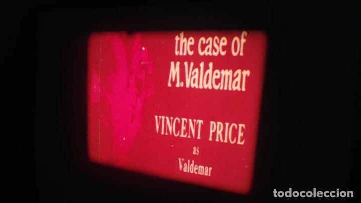 Cine: EL CASO DEL DOCTOR VALDEMAR (TERROR) PELÍCULA-SUPER 8 MM-1 x 180 MTS, RETRO-VINTAGE FILM - Foto 10 - 165910522