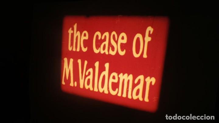 Cine: EL CASO DEL DOCTOR VALDEMAR (TERROR) PELÍCULA-SUPER 8 MM-1 x 180 MTS, RETRO-VINTAGE FILM - Foto 11 - 165910522