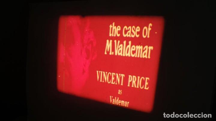Cine: EL CASO DEL DOCTOR VALDEMAR (TERROR) PELÍCULA-SUPER 8 MM-1 x 180 MTS, RETRO-VINTAGE FILM - Foto 13 - 165910522