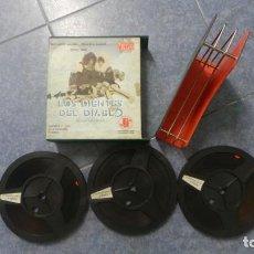 Cine: LOS DIENTES DEL DIABLO (ANTHONY QUINN) PELÍCULA- LARGO-SUPER 8 MM-3 X 120 MTS, RETRO-VINTAGE FILM. Lote 165910634