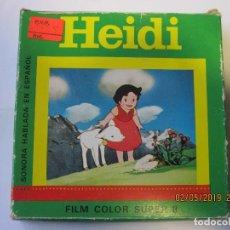 Cine: CAJA VACIA DE PELICULA SUPER 8 HEIDI. Lote 166429066