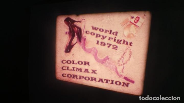 Cine: CORTOMETRAJE – ADULTOS- COLOR CLYMAX SUPER 8 MM-RETRO VINTAGE FILM - Foto 35 - 166596086