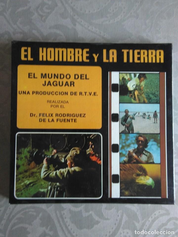 PELICULA SUPER 8 EL HOMBRE Y LA TIERRA N°2 EL MUNDO DEL JAGUAR (Cine - Películas - Super 8 mm)