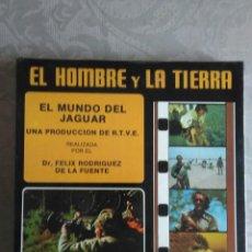 Cine: PELICULA SUPER 8 EL HOMBRE Y LA TIERRA N°2 EL MUNDO DEL JAGUAR. Lote 167571872