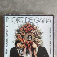Cine: PELICULA FILM COLOR SUPER 8 MORT DE GANA LA TRINCA EN CATALA. Lote 167574120