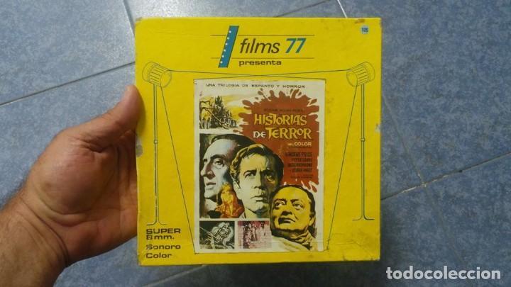 EL GATO NEGRO (TERROR)ROGER CORMAN -PELÍCULA-SUPER 8 MM-1 X 180 MTS, RETRO-VINTAGE FILM # 2 (Cine - Películas - Super 8 mm)