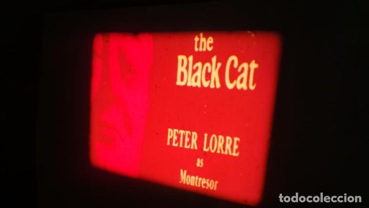 Cine: EL GATO NEGRO (TERROR)Roger Corman -PELÍCULA-SUPER 8 MM-1 x 180 MTS, RETRO-VINTAGE FILM # 2 - Foto 2 - 168527320