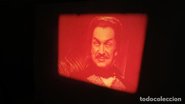 Cine: EL GATO NEGRO (TERROR)Roger Corman -PELÍCULA-SUPER 8 MM-1 x 180 MTS, RETRO-VINTAGE FILM # 2 - Foto 11 - 168527320