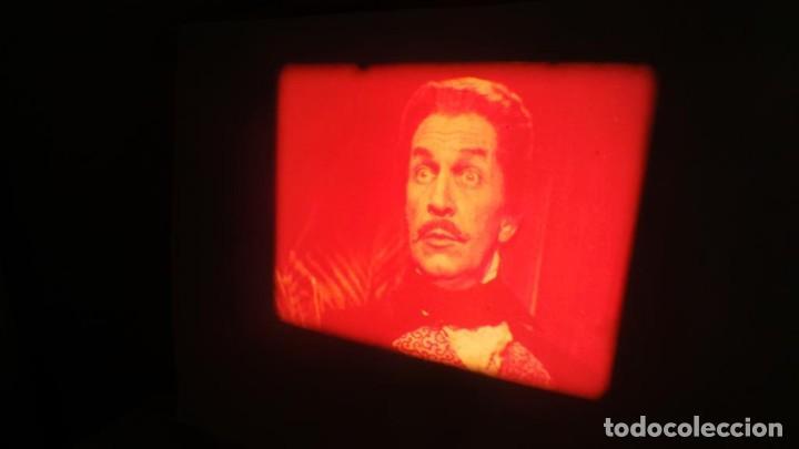 Cine: EL GATO NEGRO (TERROR)Roger Corman -PELÍCULA-SUPER 8 MM-1 x 180 MTS, RETRO-VINTAGE FILM # 2 - Foto 12 - 168527320