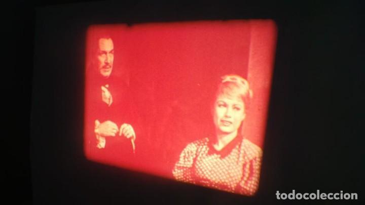 Cine: EL GATO NEGRO (TERROR)Roger Corman -PELÍCULA-SUPER 8 MM-1 x 180 MTS, RETRO-VINTAGE FILM # 2 - Foto 22 - 168527320