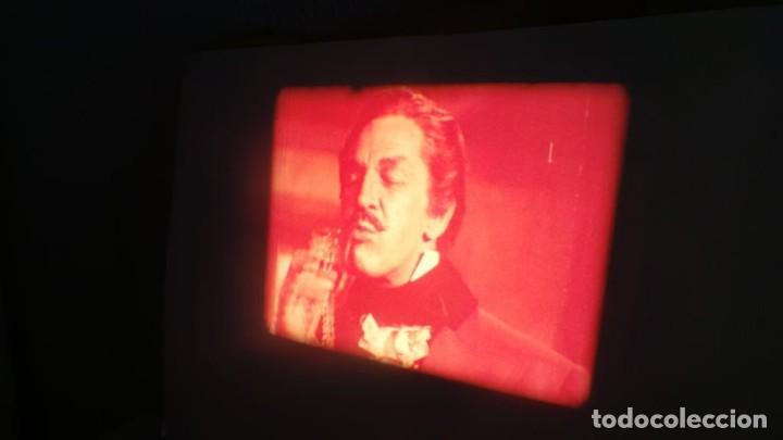 Cine: EL GATO NEGRO (TERROR)Roger Corman -PELÍCULA-SUPER 8 MM-1 x 180 MTS, RETRO-VINTAGE FILM # 2 - Foto 50 - 168527320