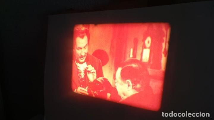 Cine: EL GATO NEGRO (TERROR)Roger Corman -PELÍCULA-SUPER 8 MM-1 x 180 MTS, RETRO-VINTAGE FILM # 2 - Foto 53 - 168527320