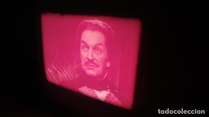 Cine: EL GATO NEGRO (TERROR)Roger Corman -PELÍCULA-SUPER 8 MM-1 x 180 MTS, RETRO-VINTAGE FILM # 2 - Foto 106 - 168527320