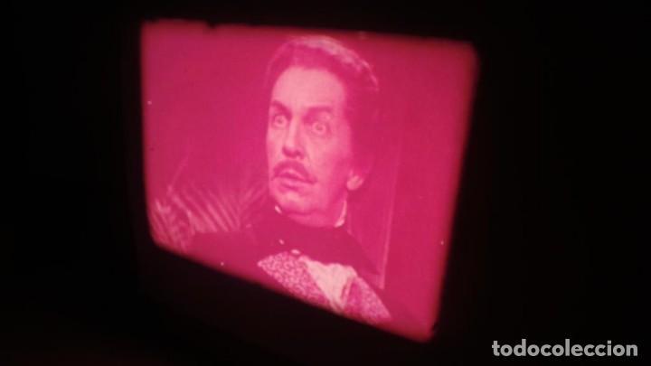 Cine: EL GATO NEGRO (TERROR)Roger Corman -PELÍCULA-SUPER 8 MM-1 x 180 MTS, RETRO-VINTAGE FILM # 2 - Foto 108 - 168527320