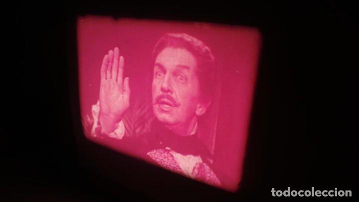 Cine: EL GATO NEGRO (TERROR)Roger Corman -PELÍCULA-SUPER 8 MM-1 x 180 MTS, RETRO-VINTAGE FILM # 2 - Foto 109 - 168527320
