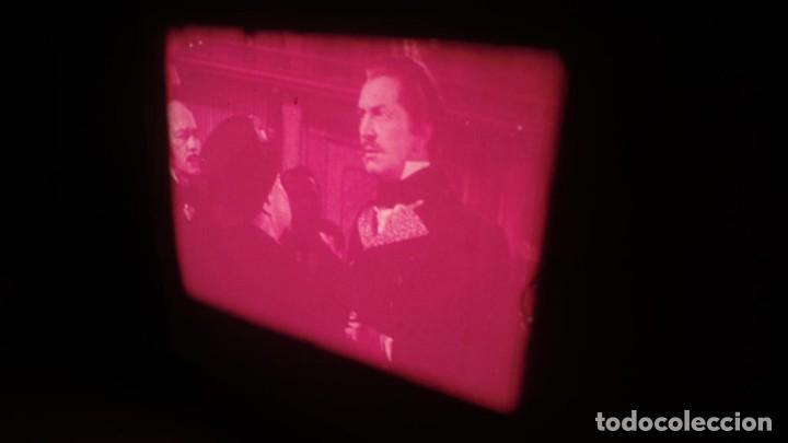 Cine: EL GATO NEGRO (TERROR)Roger Corman -PELÍCULA-SUPER 8 MM-1 x 180 MTS, RETRO-VINTAGE FILM # 2 - Foto 110 - 168527320