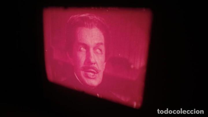 Cine: EL GATO NEGRO (TERROR)Roger Corman -PELÍCULA-SUPER 8 MM-1 x 180 MTS, RETRO-VINTAGE FILM # 2 - Foto 116 - 168527320