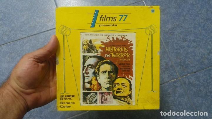Cine: EL GATO NEGRO (TERROR)Roger Corman -PELÍCULA-SUPER 8 MM-1 x 180 MTS, RETRO-VINTAGE FILM # 2 - Foto 119 - 168527320
