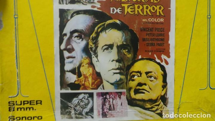 Cine: EL GATO NEGRO (TERROR)Roger Corman -PELÍCULA-SUPER 8 MM-1 x 180 MTS, RETRO-VINTAGE FILM # 2 - Foto 123 - 168527320