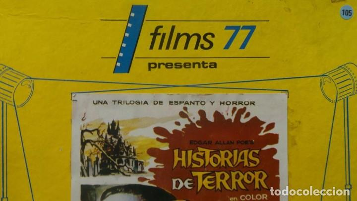 Cine: EL GATO NEGRO (TERROR)Roger Corman -PELÍCULA-SUPER 8 MM-1 x 180 MTS, RETRO-VINTAGE FILM # 2 - Foto 124 - 168527320