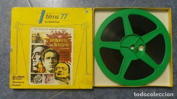 Cine: EL GATO NEGRO (TERROR)Roger Corman -PELÍCULA-SUPER 8 MM-1 x 180 MTS, RETRO-VINTAGE FILM # 2 - Foto 125 - 168527320