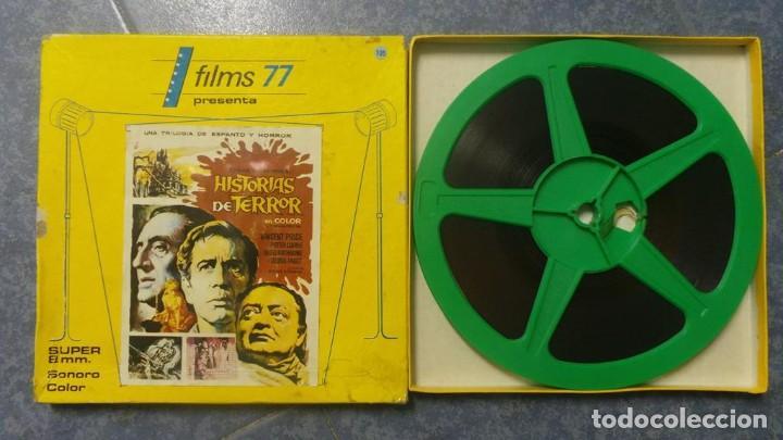 Cine: EL GATO NEGRO (TERROR)Roger Corman -PELÍCULA-SUPER 8 MM-1 x 180 MTS, RETRO-VINTAGE FILM # 2 - Foto 126 - 168527320