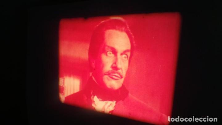 Cine: EL GATO NEGRO (TERROR)Roger Corman -PELÍCULA-SUPER 8 MM-1 x 180 MTS, RETRO-VINTAGE FILM # 2 - Foto 148 - 168527320