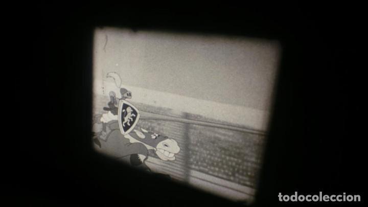Cine: BOBINA TRES CORTOMETRAJES-1 X 120 MTS-CLASICOS-WALT DISNEY SUPER 8 MM VINTAGE FILM # 352 - Foto 89 - 187945092