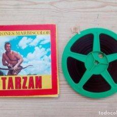 Cine: TARZAN - SUPER 8 - VISIONES MARBISCOLOR. Lote 169352888