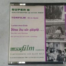 Cine: PELICULA SUPER 8 WENN DAS NUN GUGEHT TONFILM 60 M SPULE. Lote 170145540