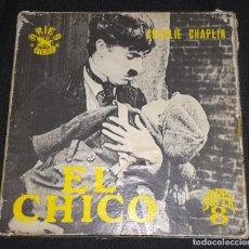Cine: SUPER 8 ++ EL CHICO ++ LARGOMETRAJE CHARLES CHAPLIN. Lote 171171167