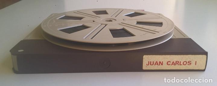 ANTIGUA PELÍCULA SUPER 8 MM - DOCUMENTAL REY DON JUAN CARLOS I - JURA DEL REY - EDICIÓN ESPECIAL (Cine - Películas - Super 8 mm)