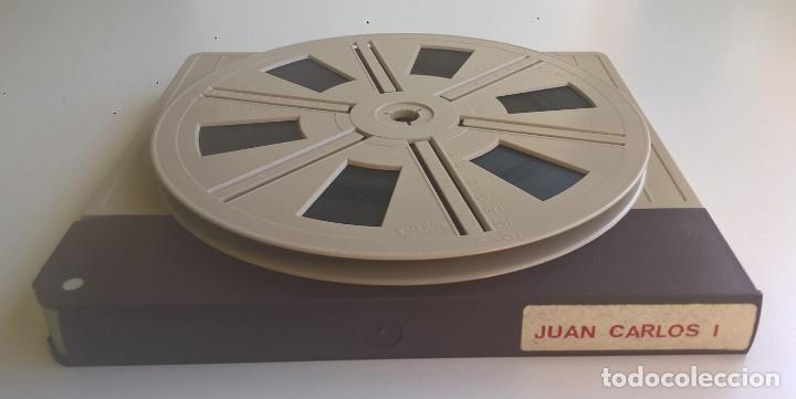 Cine: ANTIGUA PELÍCULA SUPER 8 MM - DOCUMENTAL REY DON JUAN CARLOS I - JURA DEL REY - EDICIÓN ESPECIAL - Foto 13 - 171643127