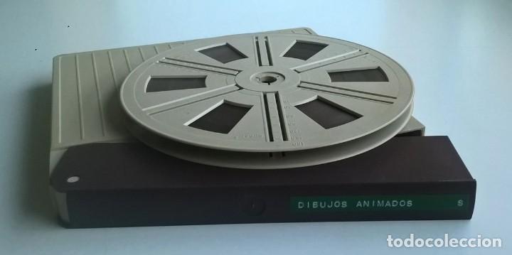 ANTIGUA PELÍCULA SUPER 8 MM - DIBUJOS ANIMADOS DE PORKY&CÍA (Cine - Películas - Super 8 mm)