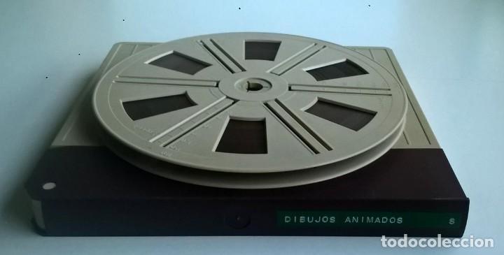 Cine: ANTIGUA PELÍCULA SUPER 8 MM - DIBUJOS ANIMADOS DE PORKY&CÍA - Foto 3 - 171643214