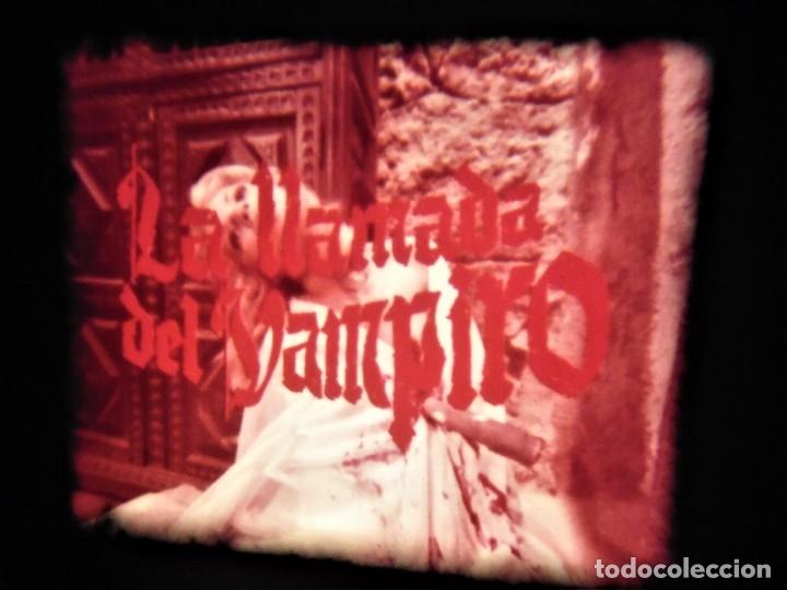 Cine: LA LLAMADA DEL VAMPIRO - LARGOMETRAJE SUPER 8 MM - POLIESTER Y SONIDO OPTICO - Foto 9 - 173741389