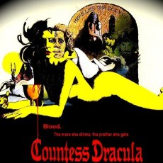 Cine: LA CONDESA DRACULA - INGRID PITT - TERROR - HAMMER - MEDIOMETRAJE SUPER 8 MM. Lote 173840859