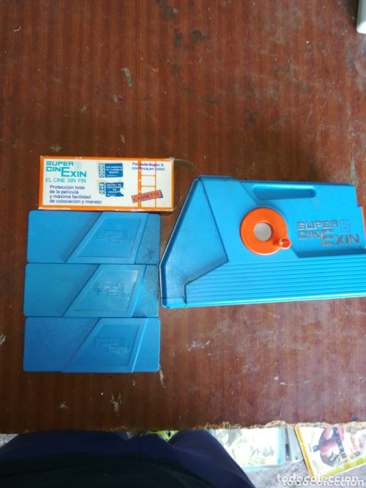 SUPER 8 CINE EXIN Y 3 PELICULAS (Cine - Películas - Super 8 mm)