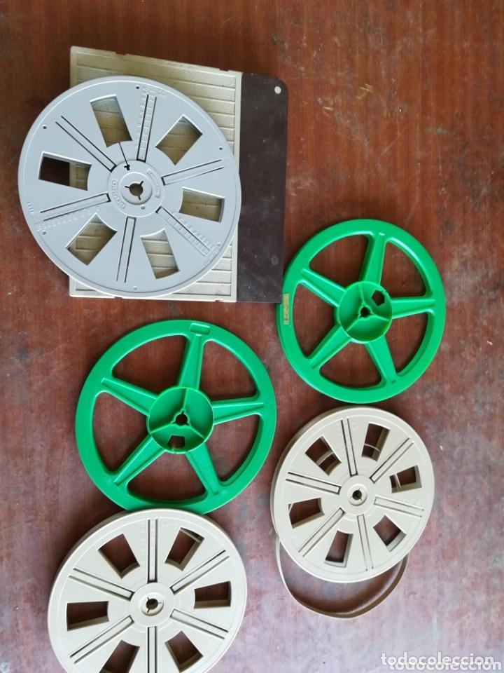 BOBINAS SÚPER 8 Y CAJA (Cine - Películas - Super 8 mm)