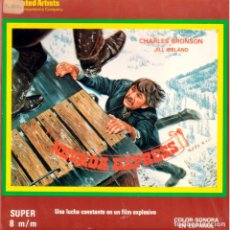 Cine: NEVADA EXPRESS. SUPER 8. 120 MTS. COLOR. SONORA ESPAÑOL.. Lote 174033889