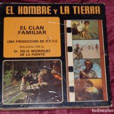 Cine: PELICULA SUPER 8 EL HOMBRE Y LA TIERRA FELIX RODRIGUEZ DE LA FUENTE EL CLAN FAMILIAR Nº 34. Lote 174503164