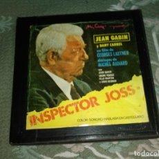 Cine: LARGOMETRAJE SUPER 8 MM ( INSPECTOR JOSS ) EN COLOR 4 X 120 MT SONIDO EN ESPAÑOL POLICIACO. Lote 176140729