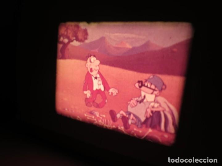 Cine: MORTADELO Y FILEMÓN(ENGAÑO A FILEMÓN )CORTO DIBUJOS ANIMADOS-SUPER 8 MM VINTAGE FILM - Foto 16 - 176333017